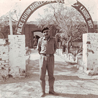Brig. Hari Singh during Barkee Capture near Lahore